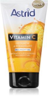 Astrid Vitamin C gel exfoliant pour une peau lumineuse
