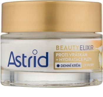 Astrid Beauty Elixir Kosteuttava Päivävoide Ryppyjä Ehkäisevän Vaikutuksen Kanssa