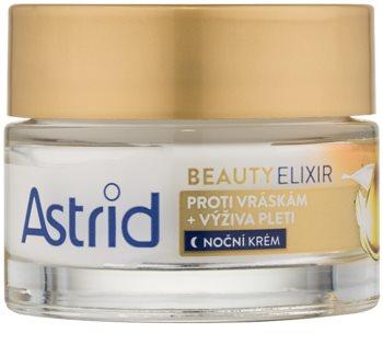 Astrid Beauty Elixir Ravitseva Yövoide Ryppyjä Ehkäisevän Vaikutuksen Kanssa