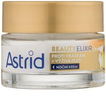 Astrid Beauty Elixir vyživujúci nočný krém proti vráskam