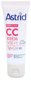 Astrid Perfect Skin CC crème SPF 20