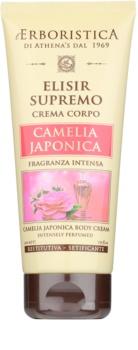 Athena's l'Erboristica Elixir Supreme parfémovaný tělový krém s vůní japonské kamélie
