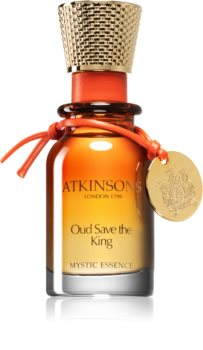 Atkinsons Oud Save The King perfumed oil (alcohol free) for Men
