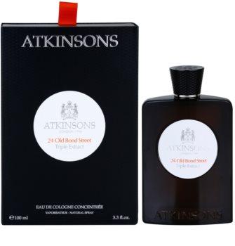 Atkinsons 24 Old Bond Street Triple Extract eau de cologne pour homme
