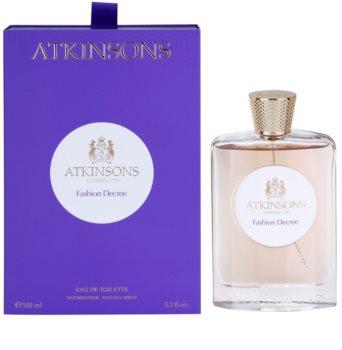 Atkinsons Fashion Decree eau de toilette pour femme