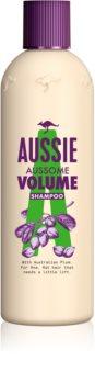 Aussie Aussome Volume Hiustenpesuaine Hennoille ja Ontuville Hiuksille