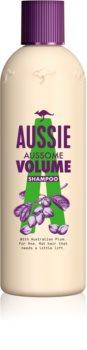 Aussie Aussome Volume szampon do włosów cienkich i delikatnych