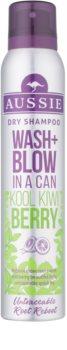 Aussie Wash+ Blow Kool Kiwi Berry suchy szampon