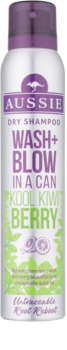 Aussie Wash+ Blow Kool Kiwi Berry сухий шампунь