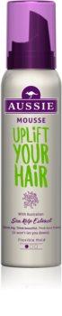 Aussie Uplift Your Hair fixáló hab a hajtérfogat növelésére