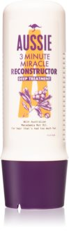 Aussie 3 Minute Miracle Reconstructor après-shampoing de 3 minutes nourrissant en profondeur pour cheveux abîmés