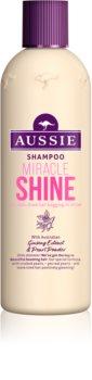 Aussie Miracle Shine champú para cabello fatigado y sin brillo