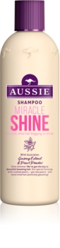 Aussie Miracle Shine Shampoo for Dull and Limp Hair
