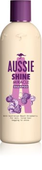 Aussie Shine Miracle hidratáló sampon a fénylő és selymes hajért