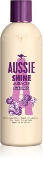 Aussie Shine Miracle shampoing hydratant pour des cheveux brillants et doux