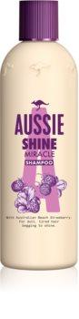 Aussie Shine Miracle szampon nawilżający do nabłyszczania i zmiękczania włosów