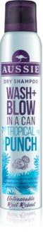 Aussie Wash+ Blow Tropical Punch shampoing sec