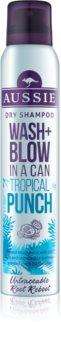 Aussie Wash+ Blow Tropical Punch suchý šampón