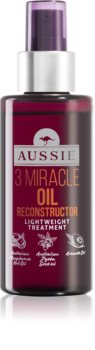 Aussie 3 Miracle Oil Reconstructor regenerační olej na vlasy ve spreji