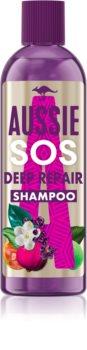 Aussie SOS Deep Repair Diepe Herstellende Shampoo  voor het Haar