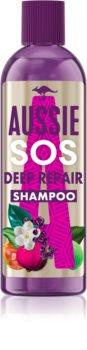 Aussie SOS Deep Repair shampoing régénérateur en profondeur pour cheveux