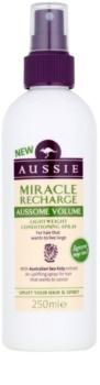 Aussie Aussome Volume condicionador sem enxaguar em spray para dar volume