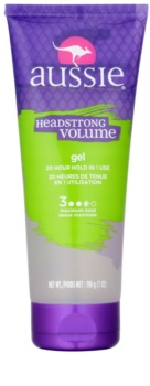 Aussie Aussome Volume gel para dar definición al peinado para cabello