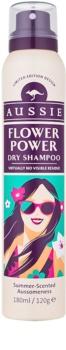 Aussie Flower Power suchy szampon o delikatnym, kwiatowym zapachu