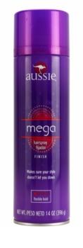 Aussie Mega lak na vlasy ľahké spevnenie