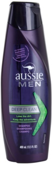 Aussie Men champú de limpieza profunda