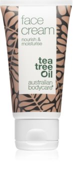 Australian Bodycare Nourish & Moisturise crema facial con aceite de árbol de té