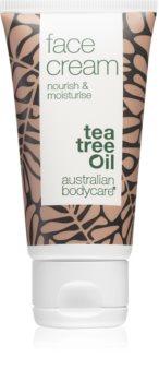 Australian Bodycare Nourish & Moisturise crème visage à l'huile d'arbre à thé