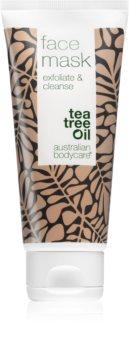 Australian Bodycare exfoliate & cleanse tisztító agyagos arcmaszk teafaolajjal