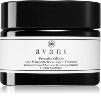 Avant Acne Defence Proactive Salicylic Acne & Imperfections Repair Treatment Moisturising Cream Against Imperfections Acne Prone Skin