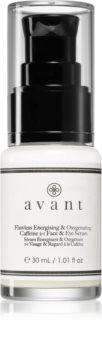 Avant Age Protect & UV Flawless Energising & Oxygenating Caffeine 2-1 Face & Eye Serum енергетична сироватка для обличчя та шкіри навколо очей