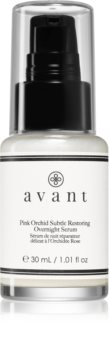 Avant Age Protect & UV Pink Orchid Subtle Restoring Overnight Serum sérum de noche antiarrugas nutritivo