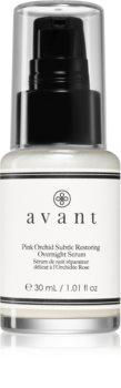 Avant Age Protect & UV Pink Orchid Subtle Restoring Overnight Serum поживна нічна сироватка проти зморшок