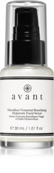 Avant Age Restore Marvellous Nocturnal Resurfacing Hyaluronic Facial Serum sérum de nuit  lissage du contour