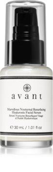 Avant Age Restore Marvellous Nocturnal Resurfacing Hyaluronic Facial Serum нічна сироватка для розгладжування контурів