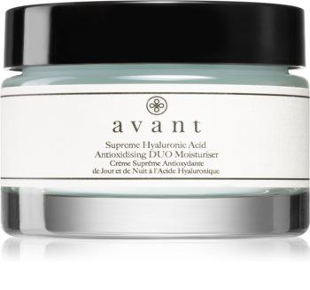 Avant Age Nutri-Revive Supreme Hyaluronic Acid Anti-oxidising DUO Moisturiser crema nutritiva antioxidante  con efecto antiarrugas