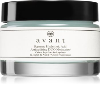 Avant Age Nutri-Revive Supreme Hyaluronic Acid Anti-oxidising DUO Moisturiser tápláló antioxidáns krém ránctalanító hatással
