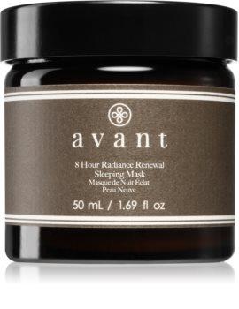 Avant Age Radiance  8 hour Radiance ночная маска для обновления кожи с антивозрастным эффектом