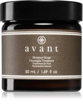 Avant Age Restore Moisture Surge Overnight Treatment intenzív éjszakai ápolás ránctalanító hatással