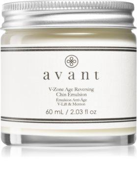 Avant Age Defy+ V-zone Age Reversing Chin Emulsion krem rozjaśniający przeciw starzeniu się i ujędrniający skórę