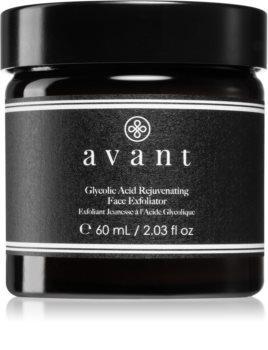 Avant Age Defy+ Glycolic Acid Rejuvenating Face Exfoliator exfoliante revitalizante para redensificar la piel