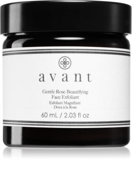 Avant Age Nutri-Revive Gentle Rose Beautifying Face Exfoliant Gentle Scrub with Brightening and Smoothing Effect