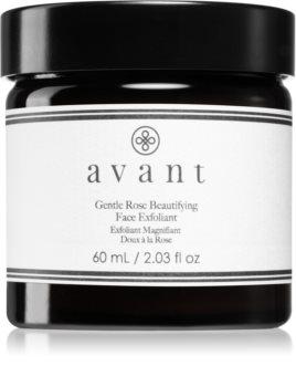 Avant Age Nutri-Revive Gentle Rose Beautifying Face Exfoliant gommage doux pour une peau lumineuse et lisse