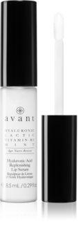 Avant Age Nutri-Revive Hyaluronic Acid Replenishing Lip Serum nega za povečanje volumna ustnic z gladilnim učinkom