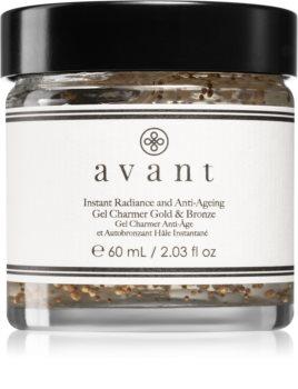 Avant Age Radiance Instant Radiance and Anti-Ageing Gel Charmer Gold & Bronze bronzující gel na obličej pro zvýraznění opálení