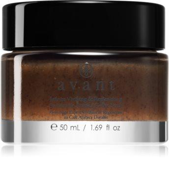 Avant Sustainable Infinite Vivifying & Replenishing Sustainable Arabica Coffee Scrub exfoliante facial limpiador  con extracto de café